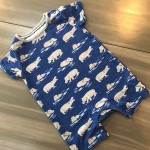 Baby Boden Hippo Romper